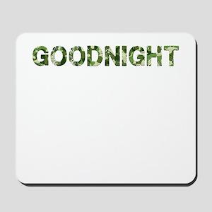 Goodnight, Vintage Camo, Mousepad