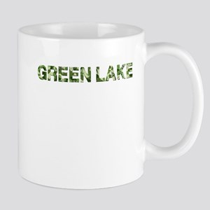 Green Lake, Vintage Camo, Mug