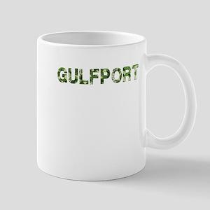 Gulfport, Vintage Camo, Mug