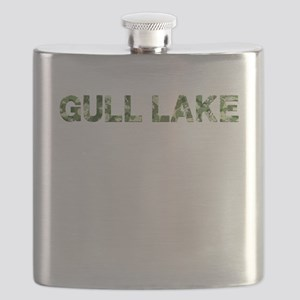 Gull Lake, Vintage Camo, Flask