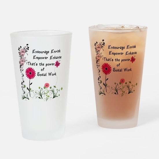 Empowerment Drinking Glass