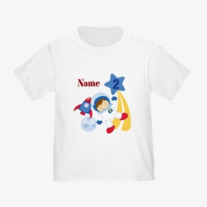 Personalized Astronaut 2 Toddler T-Shirt