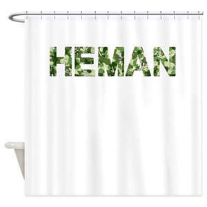 Heman Shower Curtains