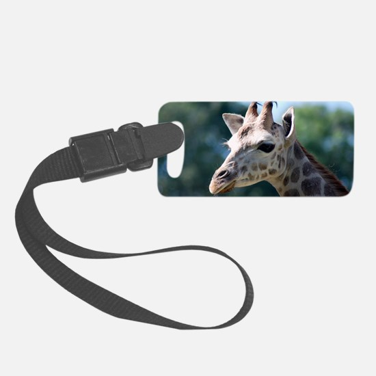Giraffe Luggage Tag