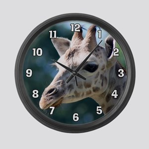 Giraffe Large Wall Clock