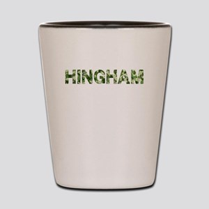 Hingham, Vintage Camo, Shot Glass