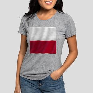 CT-02-PL-020-Wh Womens Tri-blend T-Shirt