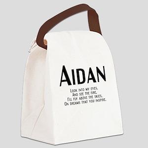 Aidan_rhyme-b Canvas Lunch Bag