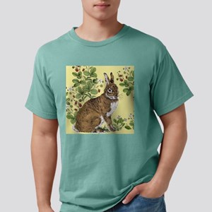 Bunny in the Berry Patch Mens Comfort Colors Shirt