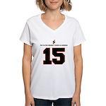 x-mas t-shirts jody front Women's V-Neck T-Shi