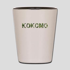 Kokomo, Vintage Camo, Shot Glass