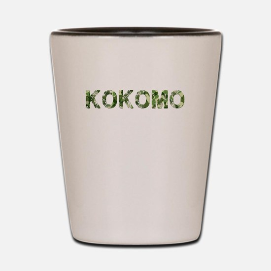 Kokomo, Vintage Camo, Shot Glass