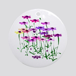 Wildflowers Ornament (Round)