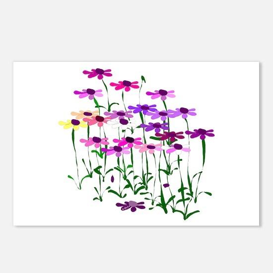 Wildflowers Postcards (Package of 8)