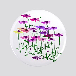 "Wildflowers 3.5"" Button"