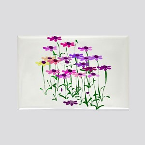 Wildflowers Rectangle Magnet