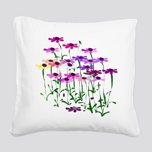 Wildflowers Square Canvas Pillow
