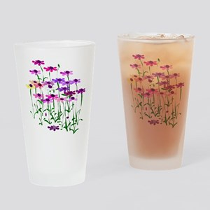 Wildflowers Drinking Glass