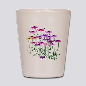 Wildflowers Shot Glass