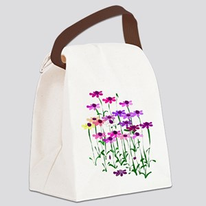Wildflowers Canvas Lunch Bag