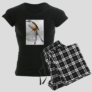 Scissor-Tailed Flycatcher Women's Dark Pajamas