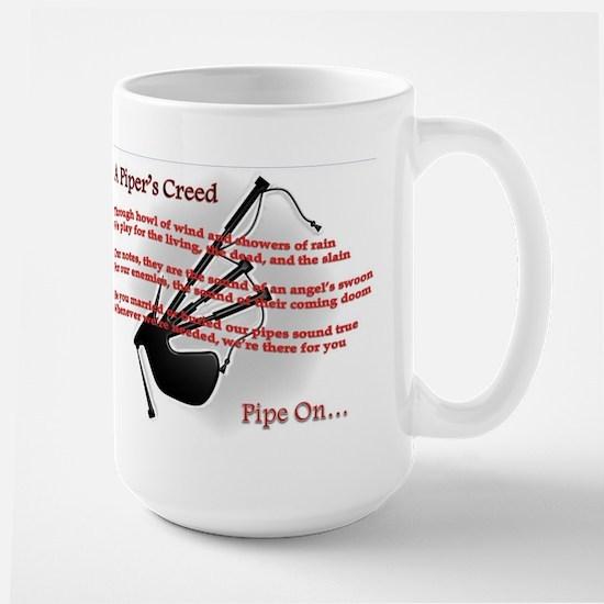 Piper's Creed (White) Large Mug