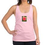 Fiery Rose Racerback Tank Top