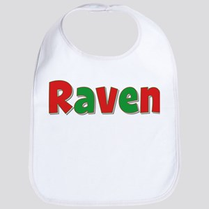 Raven Christmas Bib