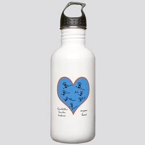 Handprints on your heart - 7 kids Stainless Water