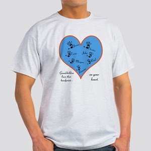 Handprints on your heart - 7 kids Light T-Shirt