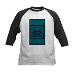 Death Tarot Kids Baseball Jersey