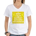 Keep Calm Sarcoma Awareness T-Shirt
