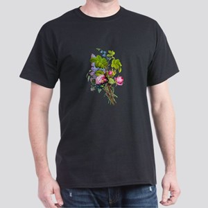 Jean Louis Prevost Bouquet Dark T-Shirt