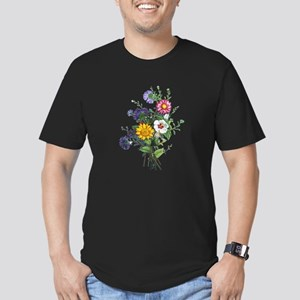 Jean Louis Prevost Bouquet Men's Fitted T-Shirt (d
