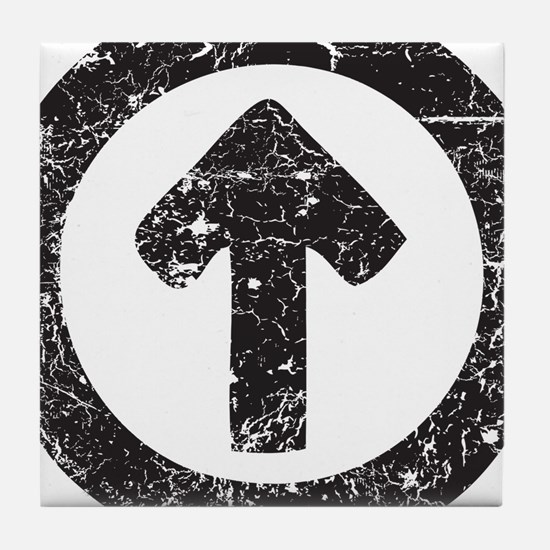 Above Influence Tile Coaster