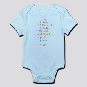 Mnemonic Edited II Infant Bodysuit