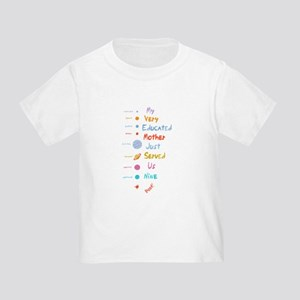 Mnemonic Edited II Toddler T-Shirt