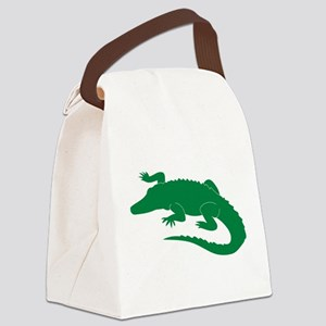 Aligator Canvas Lunch Bag