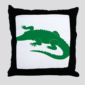 Aligator Throw Pillow