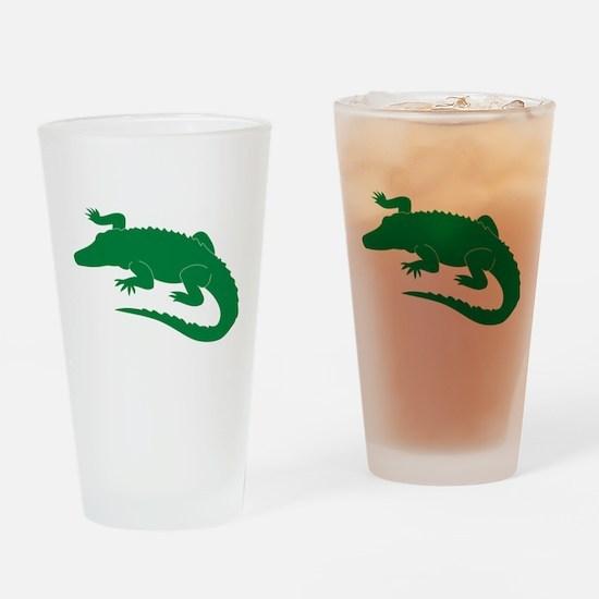 Aligator Drinking Glass