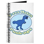 T-Rex Hates Push-ups Journal