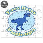 T-Rex Hates Push-ups Puzzle