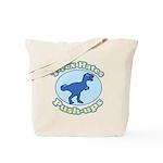 T-Rex Hates Push-ups Tote Bag
