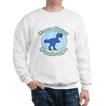 T-Rex Hates Push-ups Sweatshirt