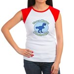 T-Rex Hates Push-ups Women's Cap Sleeve T-Shirt