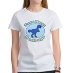 T-Rex Hates Push-ups Women's T-Shirt