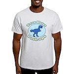 T-Rex Hates Push-ups Light T-Shirt