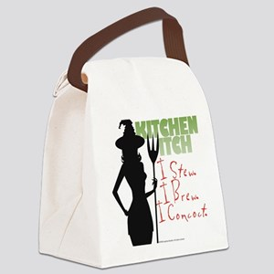 Kitchen Witch.1 Canvas Lunch Bag