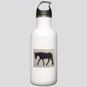 Mule outline Stainless Water Bottle 1.0L