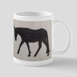 Mule outline Mug